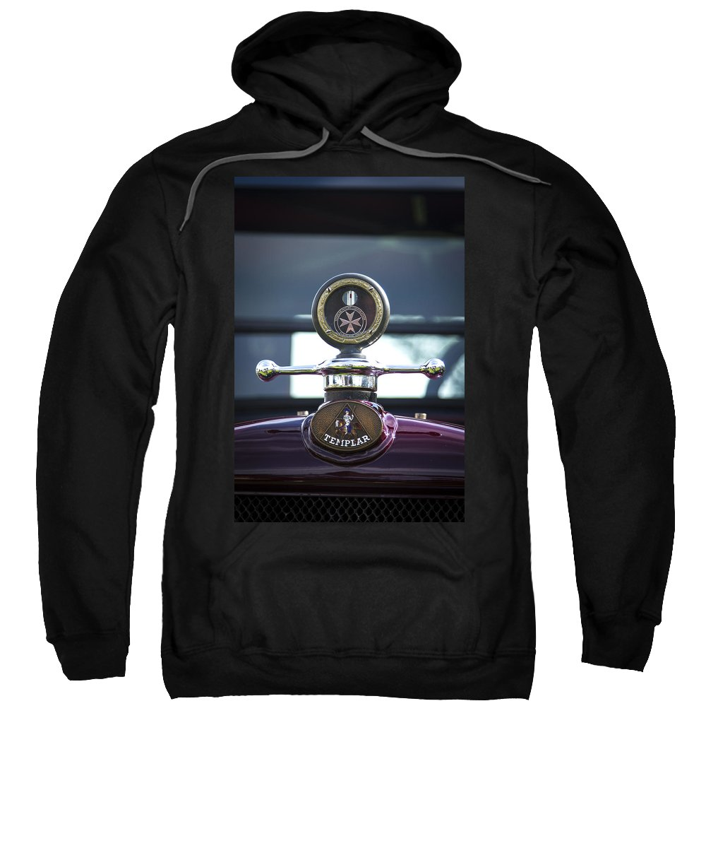 Glenmoor Sweatshirt featuring the photograph Templar by Jack R Perry