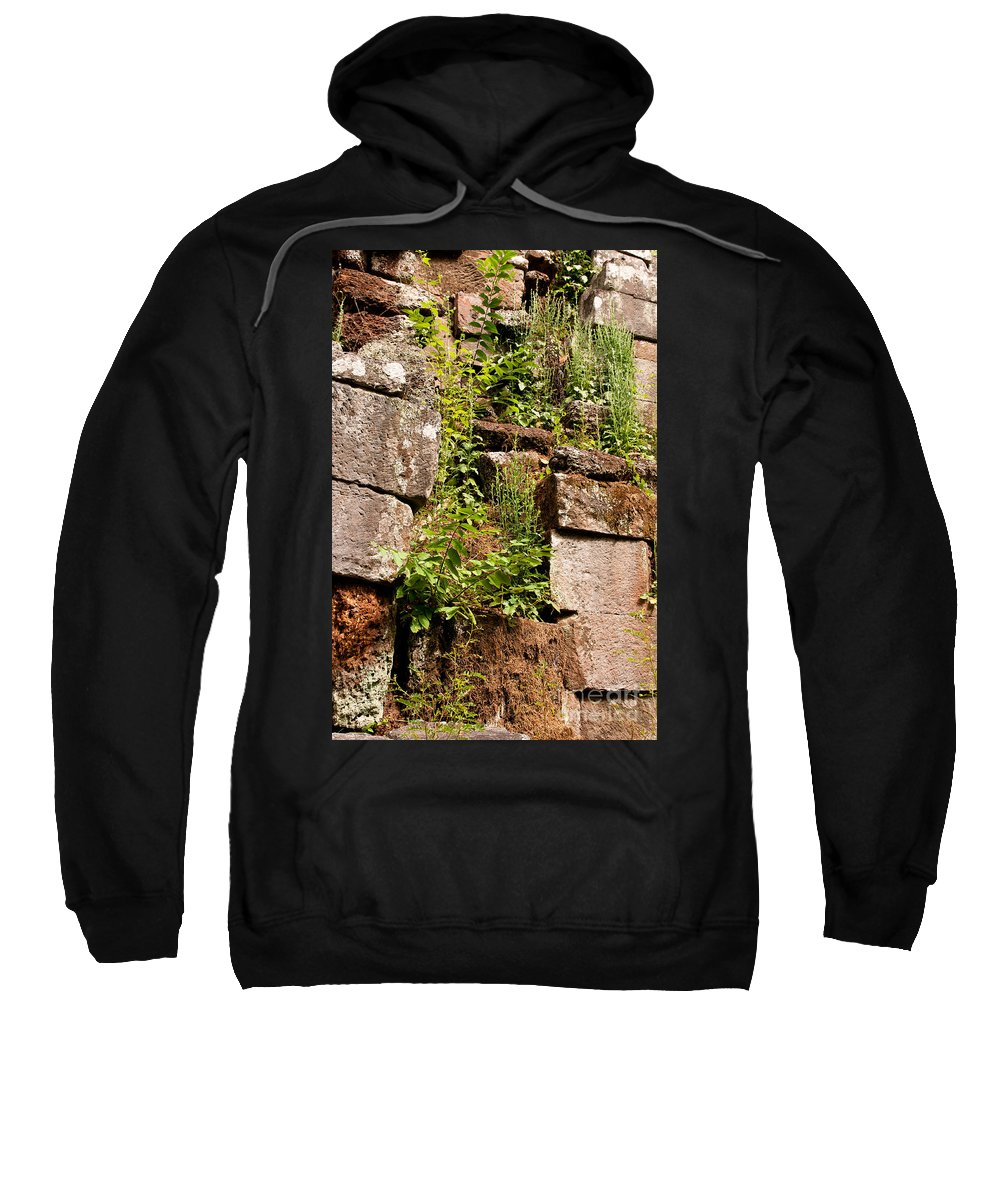 Ruined Sweatshirt featuring the photograph Temple Ruins 05 by Rick Piper Photography