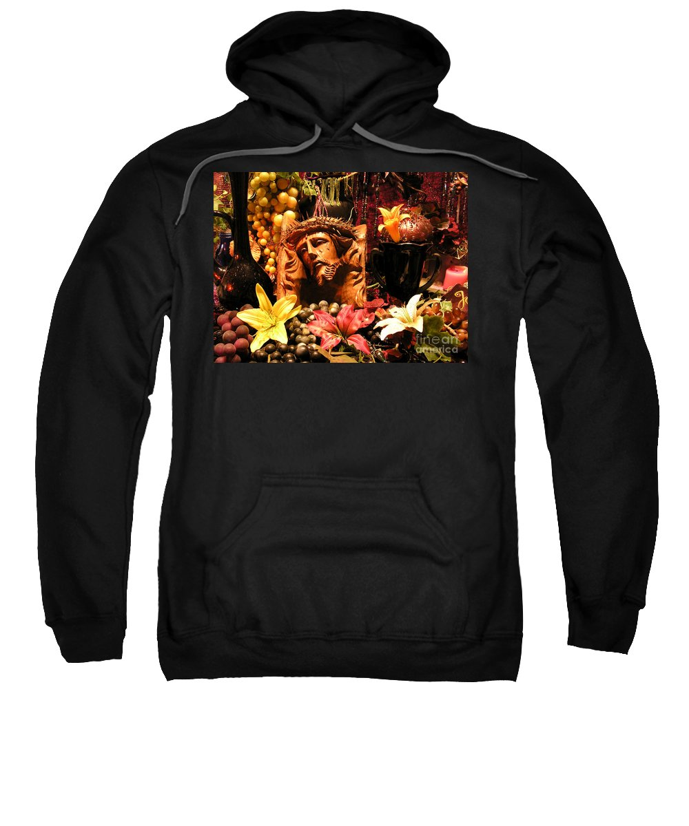 Jesus Sweatshirt featuring the photograph Thank You Jesus by Anthony Wilkening
