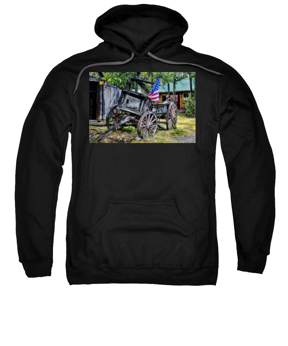 Landscape Sweatshirt featuring the photograph The American West by Mountain Dreams