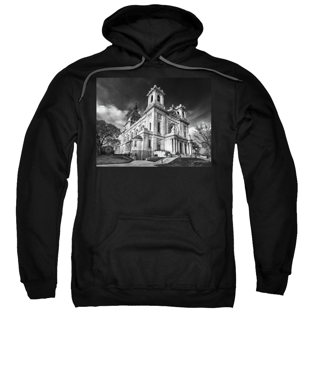 Buildings Sweatshirt featuring the photograph The Basilica Of St Mary by Guy Whiteley