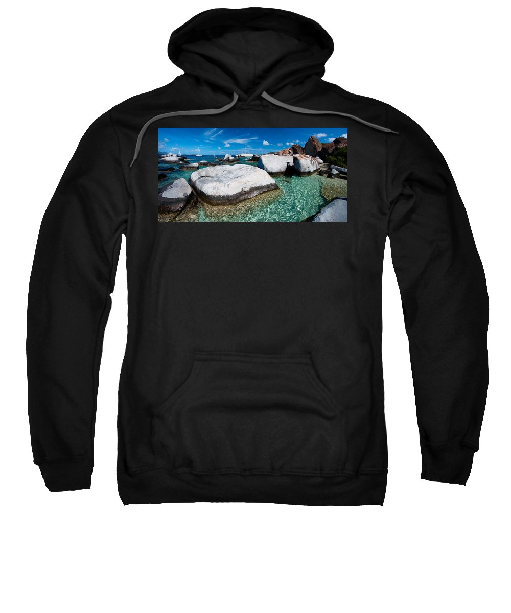 3scape Sweatshirt featuring the photograph The Baths by Adam Romanowicz
