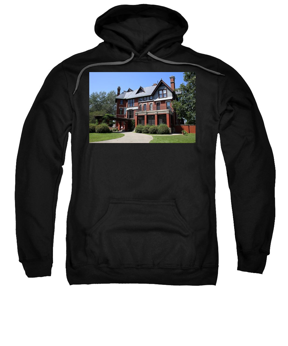Brucemore Sweatshirt featuring the photograph The Brucemore by Lynn Sprowl