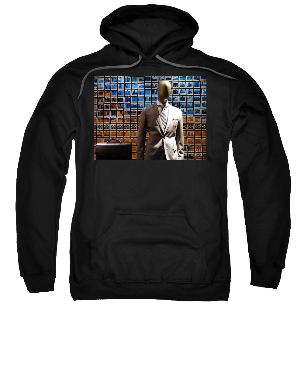 Mannequin Sweatshirt featuring the photograph The Businessman by Ed Weidman