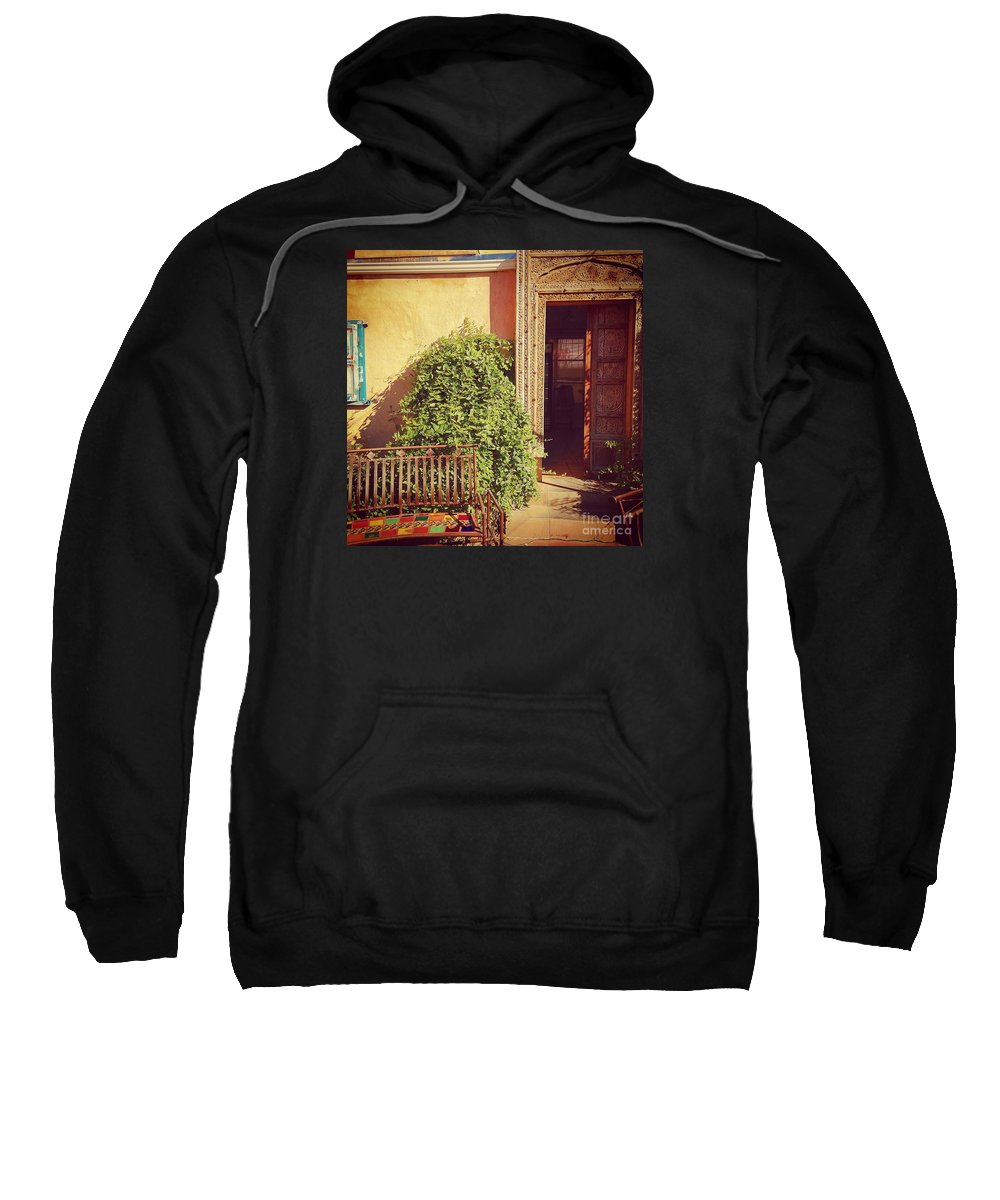 Mexico Sweatshirt featuring the photograph The Doors Of Mexico by LeLa Becker