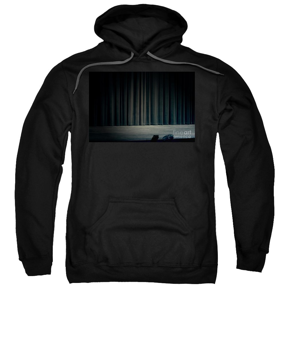 Stage Sweatshirt featuring the photograph The Final Act by Trish Mistric