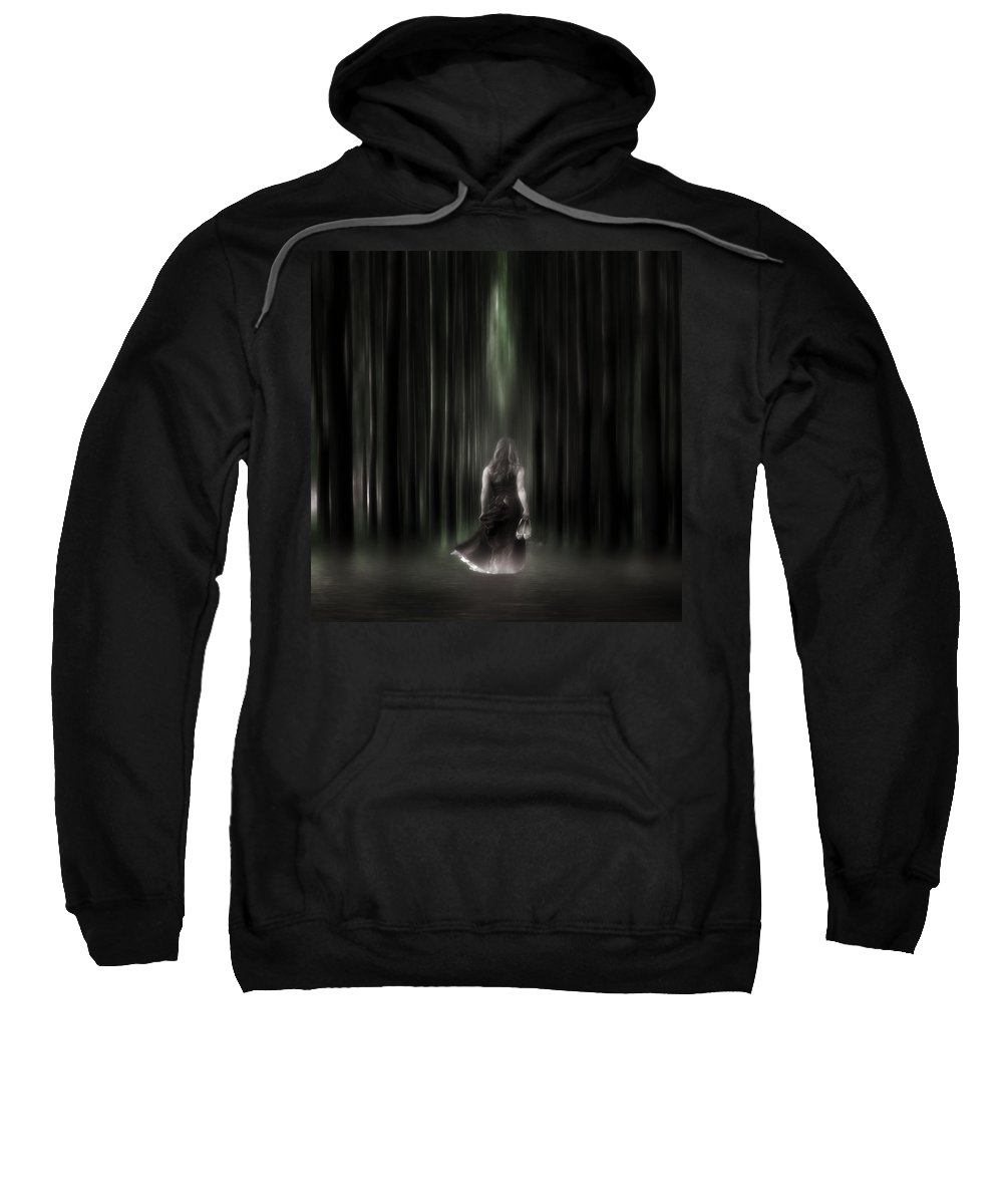 Woman Sweatshirt featuring the photograph The Forest by Joana Kruse