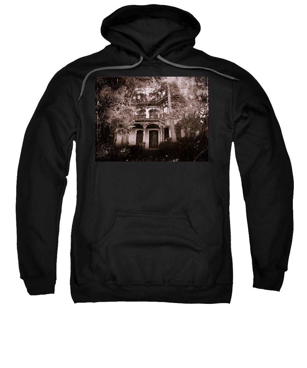 Haunting Sweatshirt featuring the photograph The Haunting by David Dehner