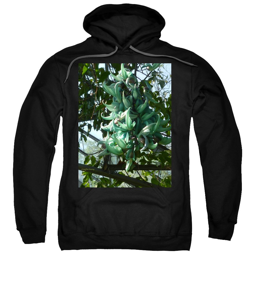 Jade Vine Sweatshirt featuring the photograph The Jade Vine by Lingfai Leung