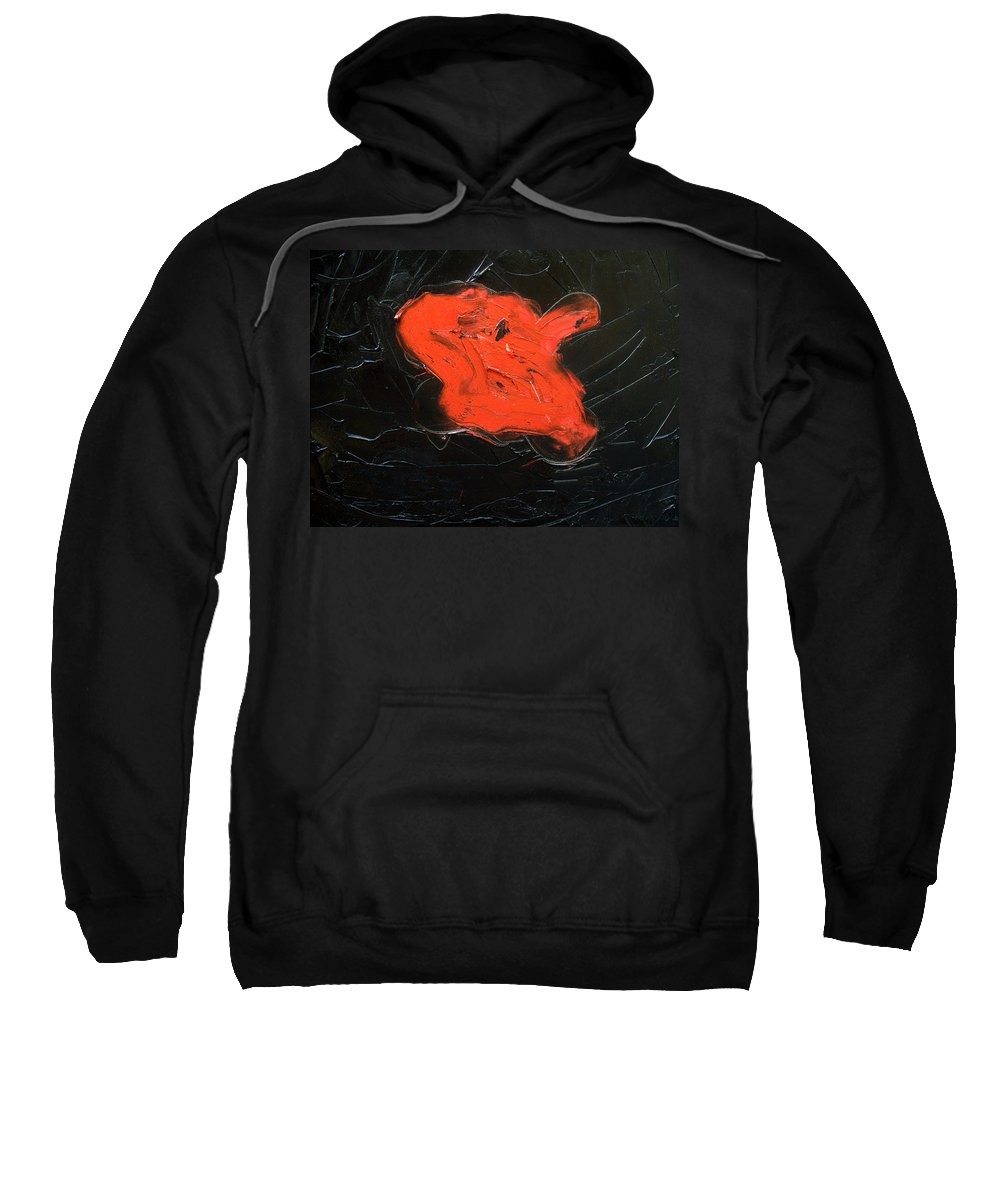 Surreal Sweatshirt featuring the painting The Last Hope by Sergey Bezhinets