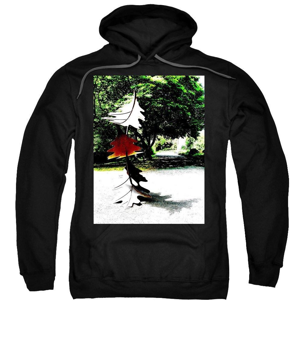 Art Sweatshirt featuring the photograph The Leaves Will Soon Start To Fall by Steve Taylor