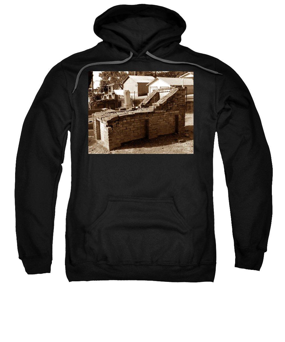 The Mason Sweatshirt featuring the photograph The Mason by Peter Piatt