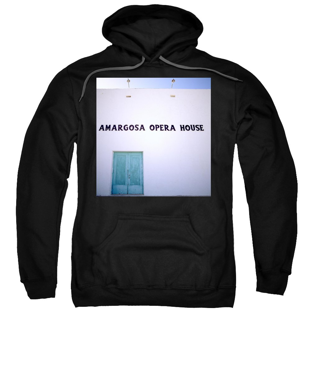 America Sweatshirt featuring the photograph The Opera House by Shaun Higson