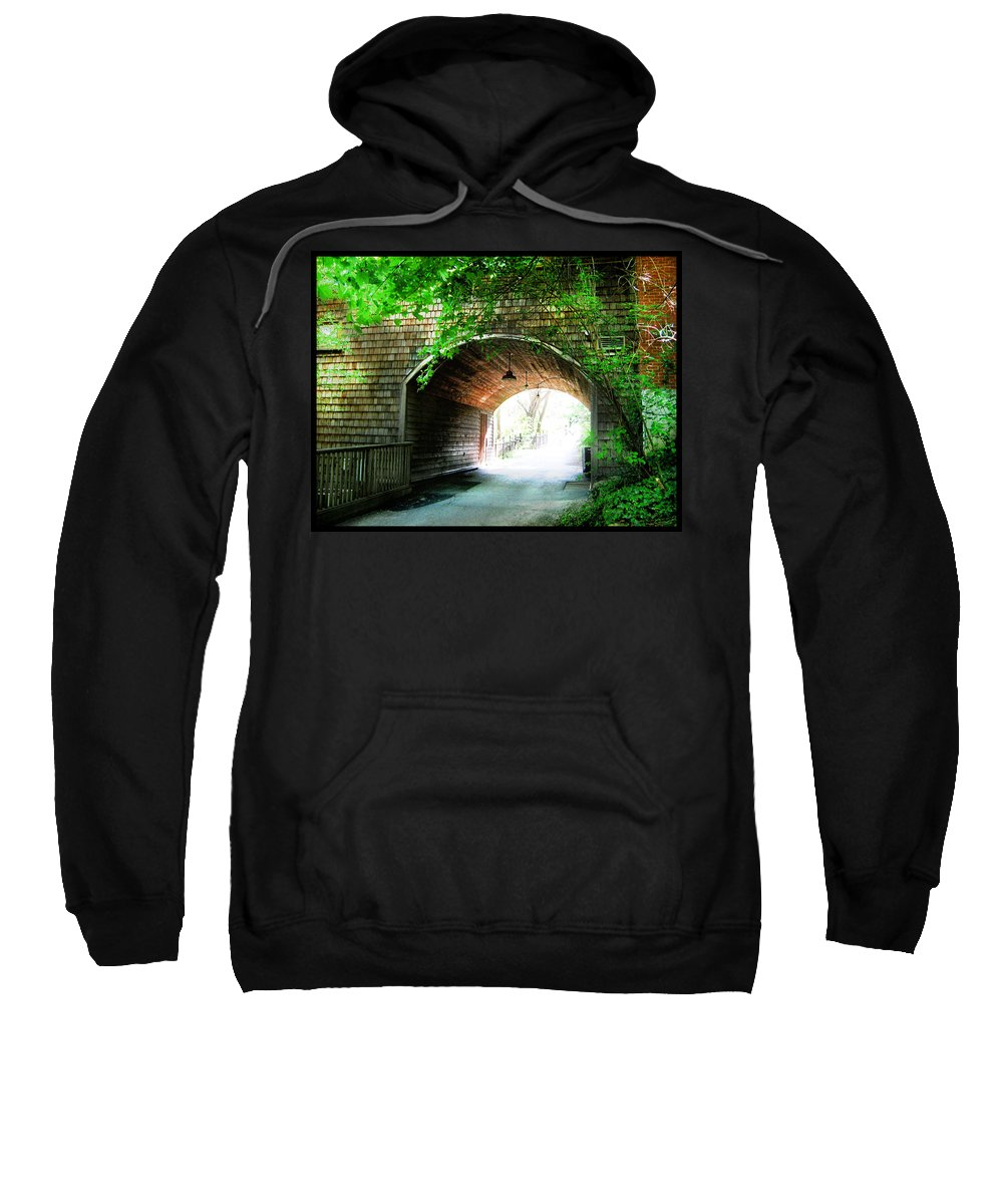 Shawn Sweatshirt featuring the photograph The Road To Beyond by Shawn Dall