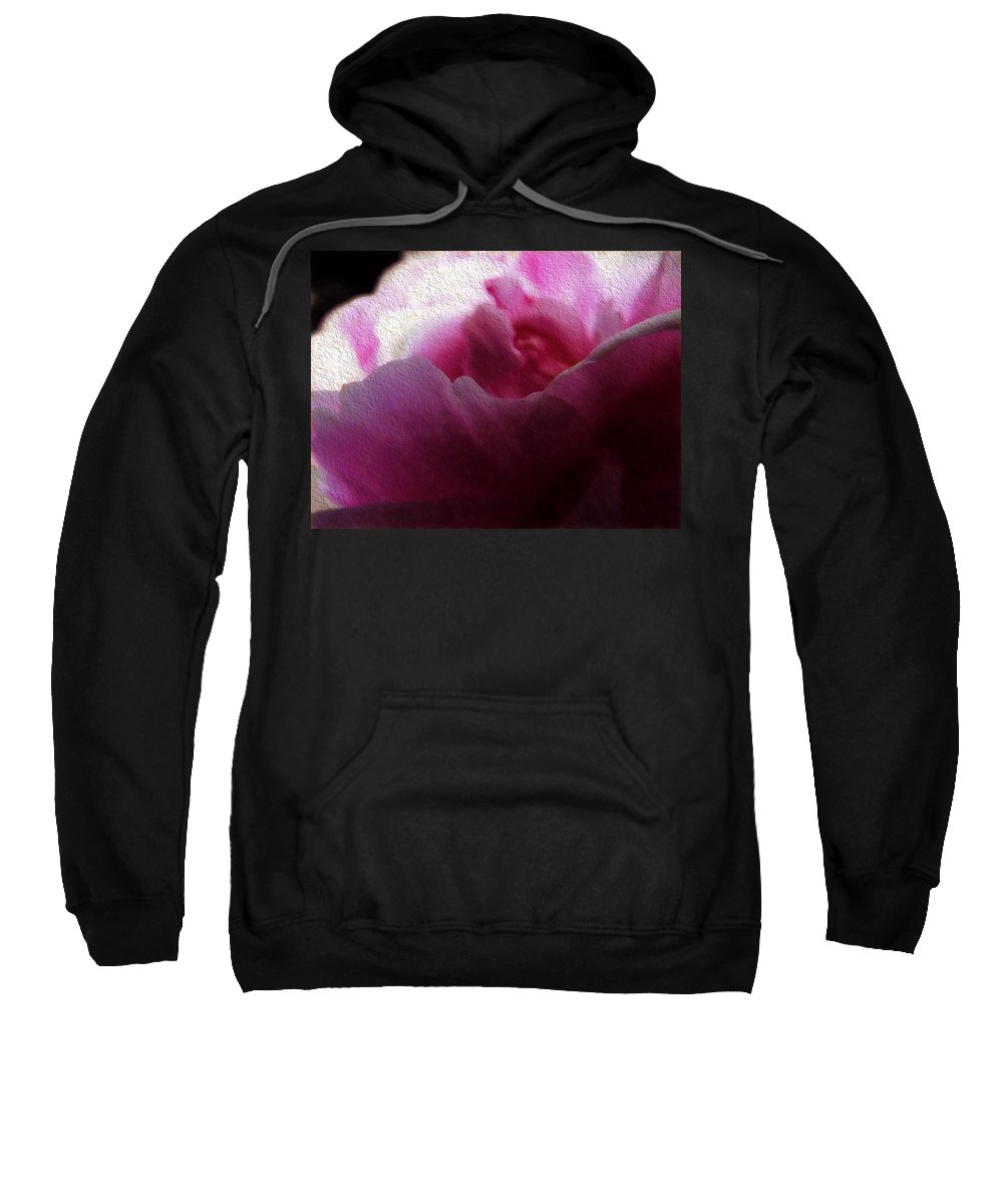 Rose Sweatshirt featuring the photograph The Rose by Cathy Anderson