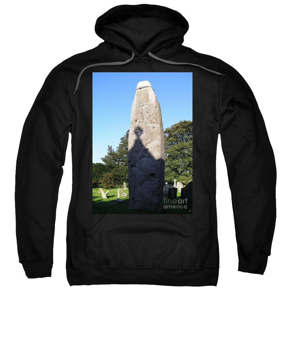 History Sweatshirt featuring the photograph The Rudstone by Neil Finnemore