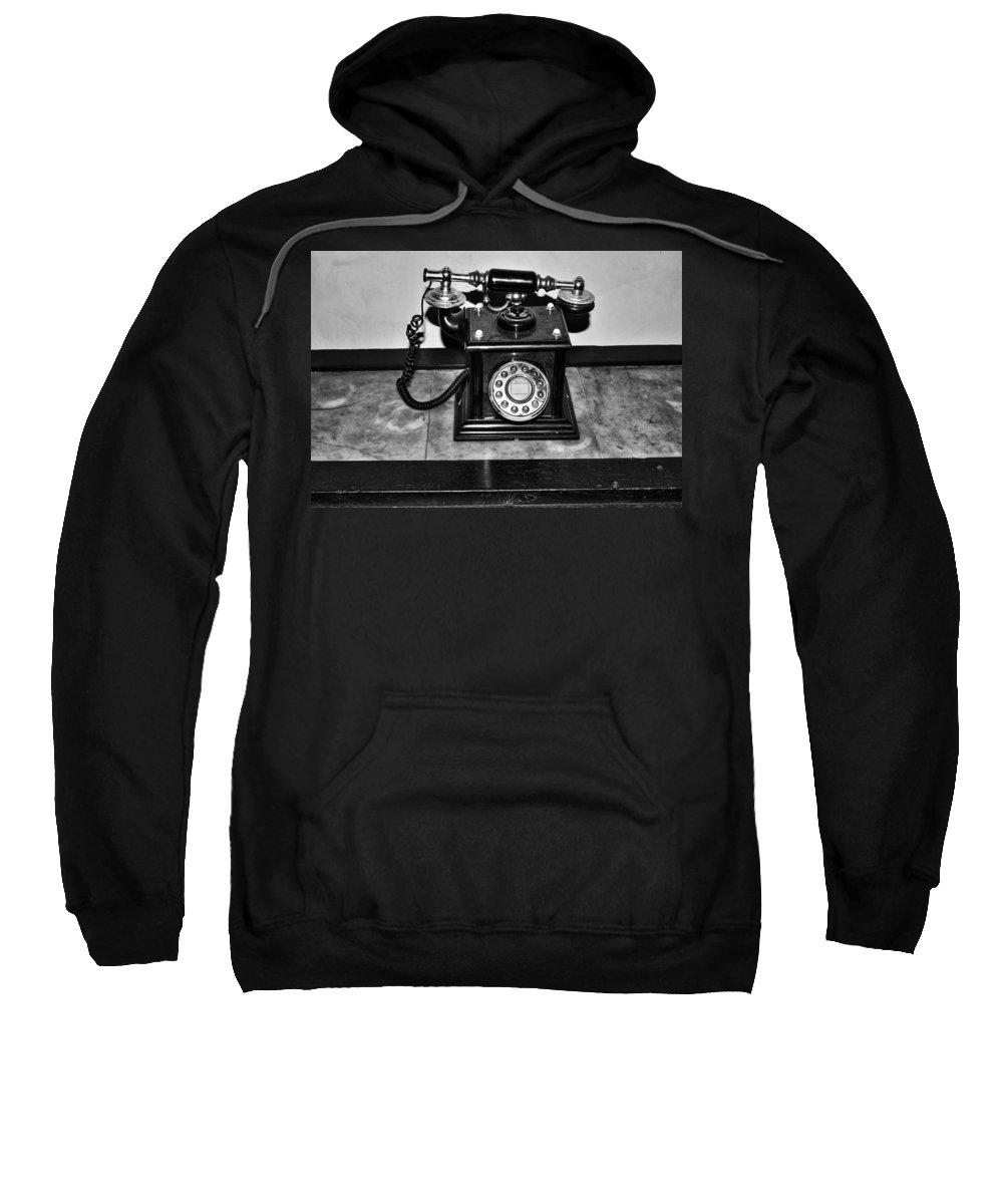 Telephone Sweatshirt featuring the photograph The Telephone by Aidan Moran