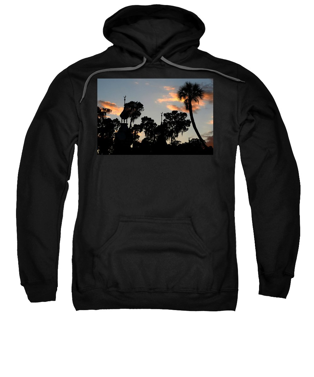 Minarets Sweatshirt featuring the photograph The Three Minarets by David Lee Thompson