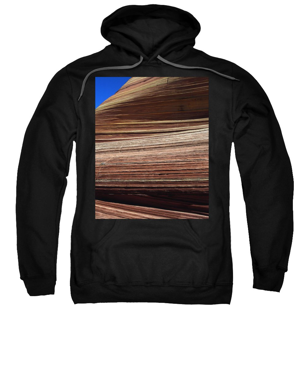 Landscape Sweatshirt featuring the photograph 'the Wave' North Coyote Buttes 06 by Jeff Brunton
