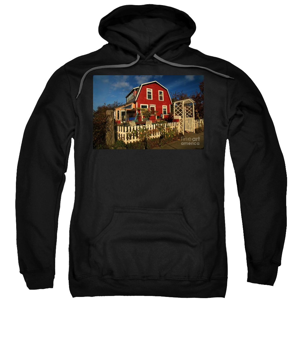 Thor Town Sweatshirt featuring the photograph Thor Town Hostel by Adam Jewell