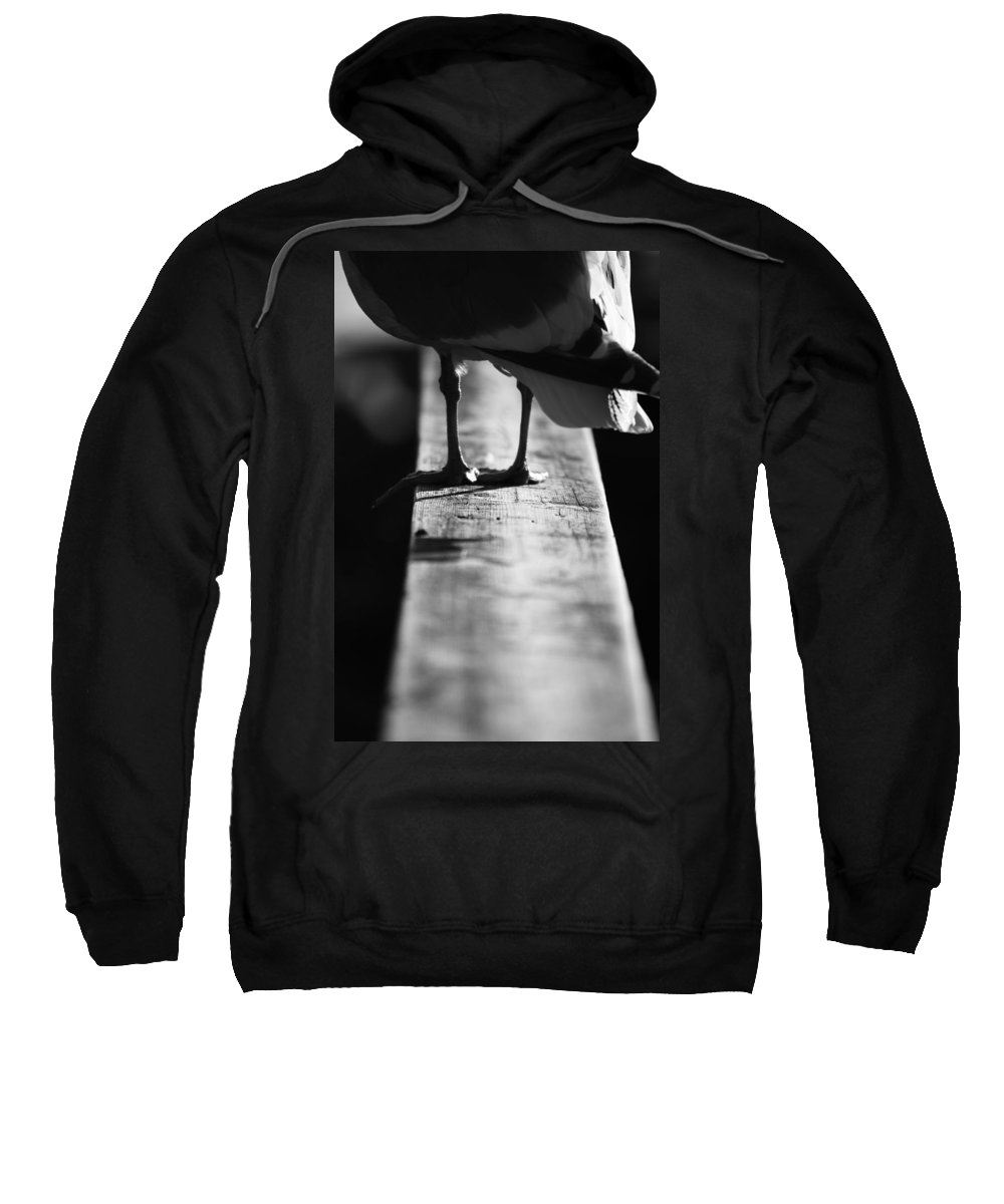 Street Photographer Sweatshirt featuring the photograph Thoughts On The Dock by The Artist Project