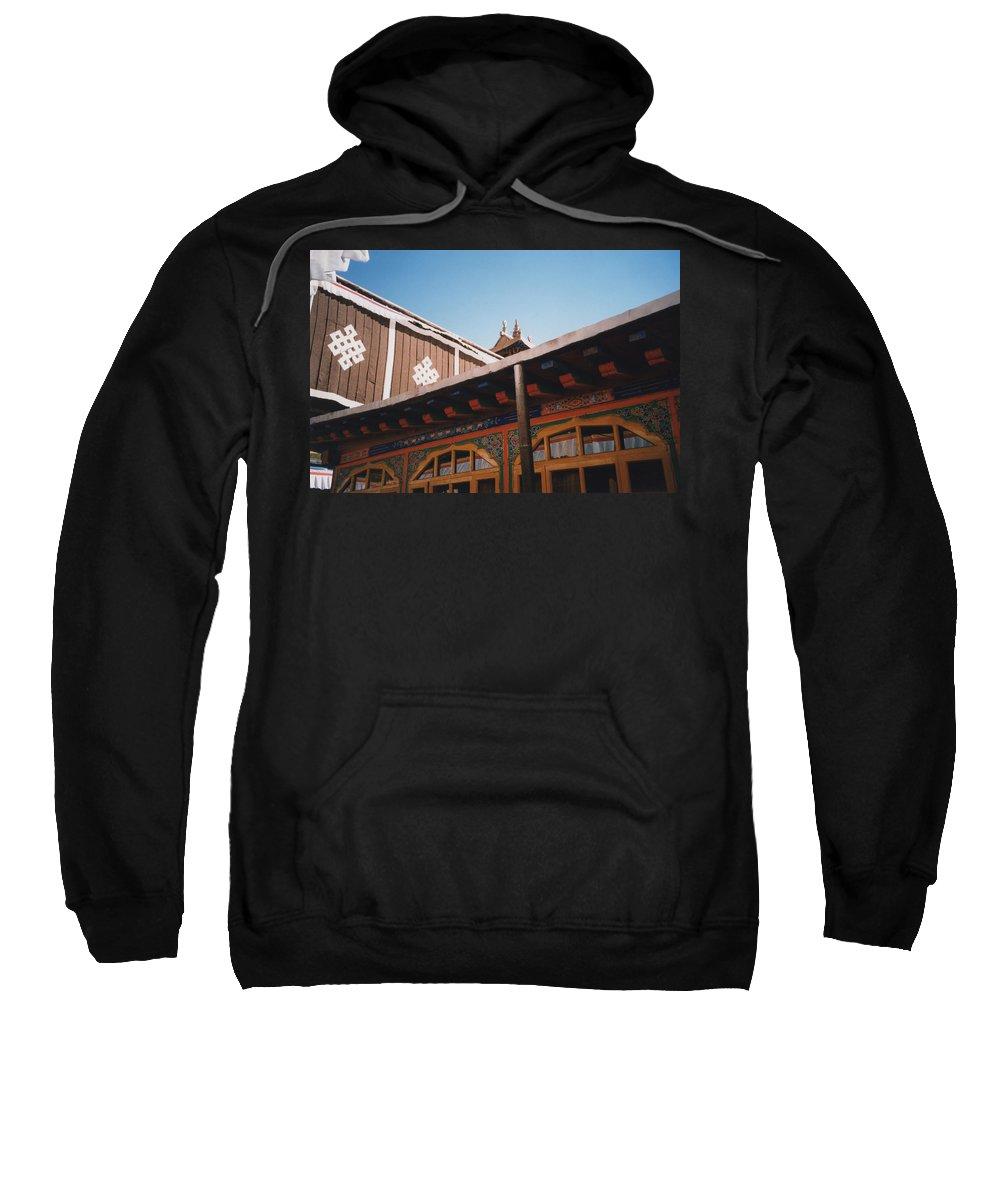 Tibet Sweatshirt featuring the photograph Tibet Potala Palace 8 by First Star Art
