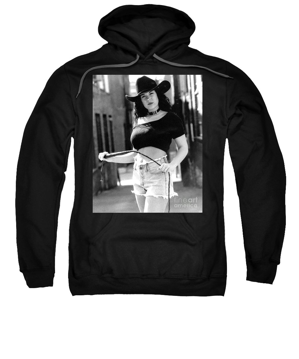 Model Sweatshirt featuring the photograph Tiffany Whip by Gary Gingrich Galleries