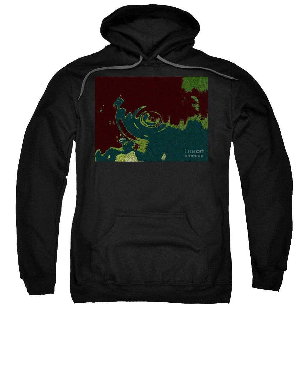 Dramatic Sky Sweatshirt featuring the photograph Time Fusion by Joseph Baril