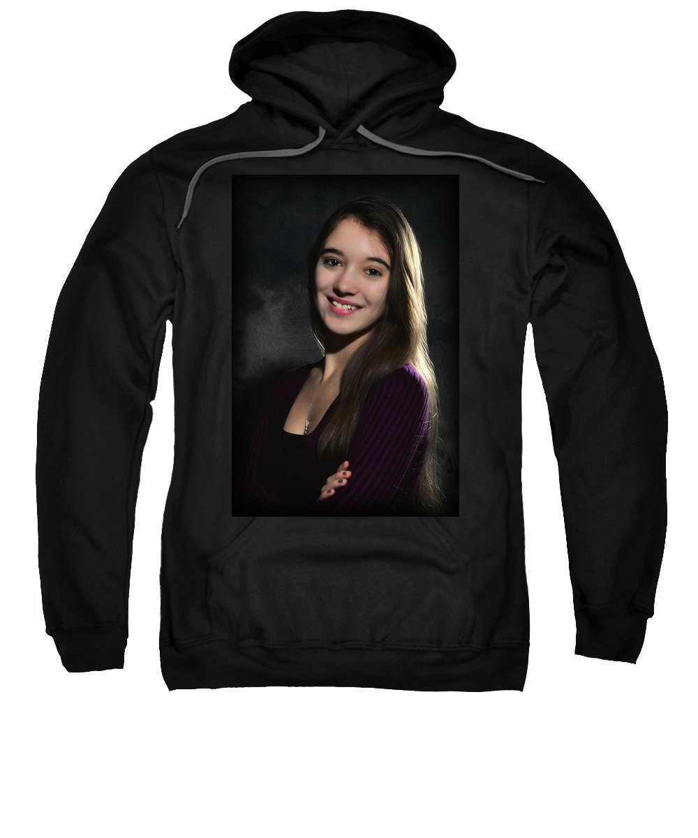 Sweatshirt featuring the photograph tr by Gene Tatroe