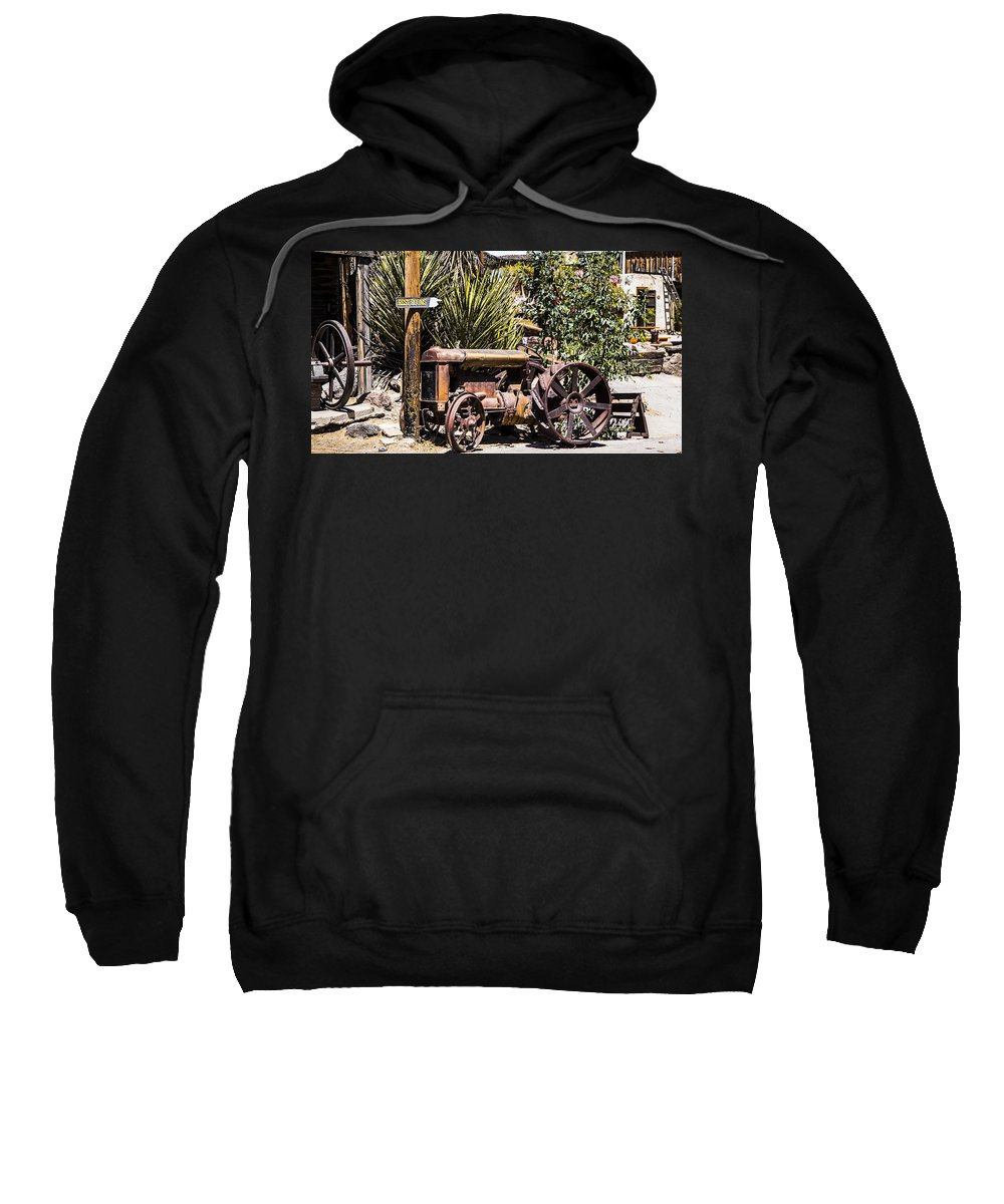 Route 66 Sweatshirt featuring the photograph Tractor by Angus Hooper Iii