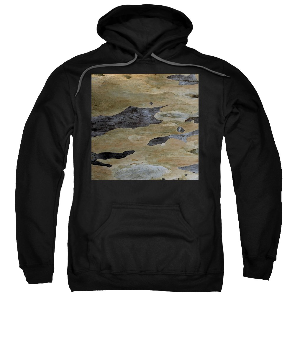 Botanical Abstract Sweatshirt featuring the photograph Tree Bark I by Ben and Raisa Gertsberg