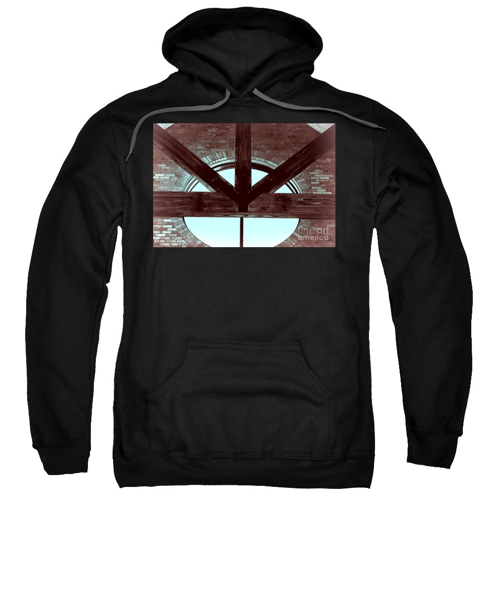 Rinity Series Sweatshirt featuring the photograph Trinity Series 5 by Luther Fine Art