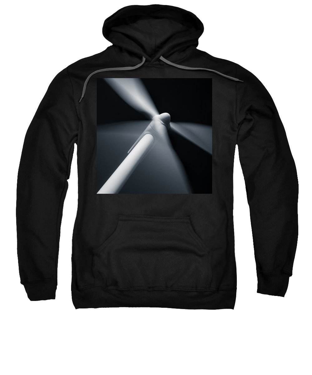 Wind Turbine Sweatshirt featuring the photograph Wind Turbine by Dave Bowman