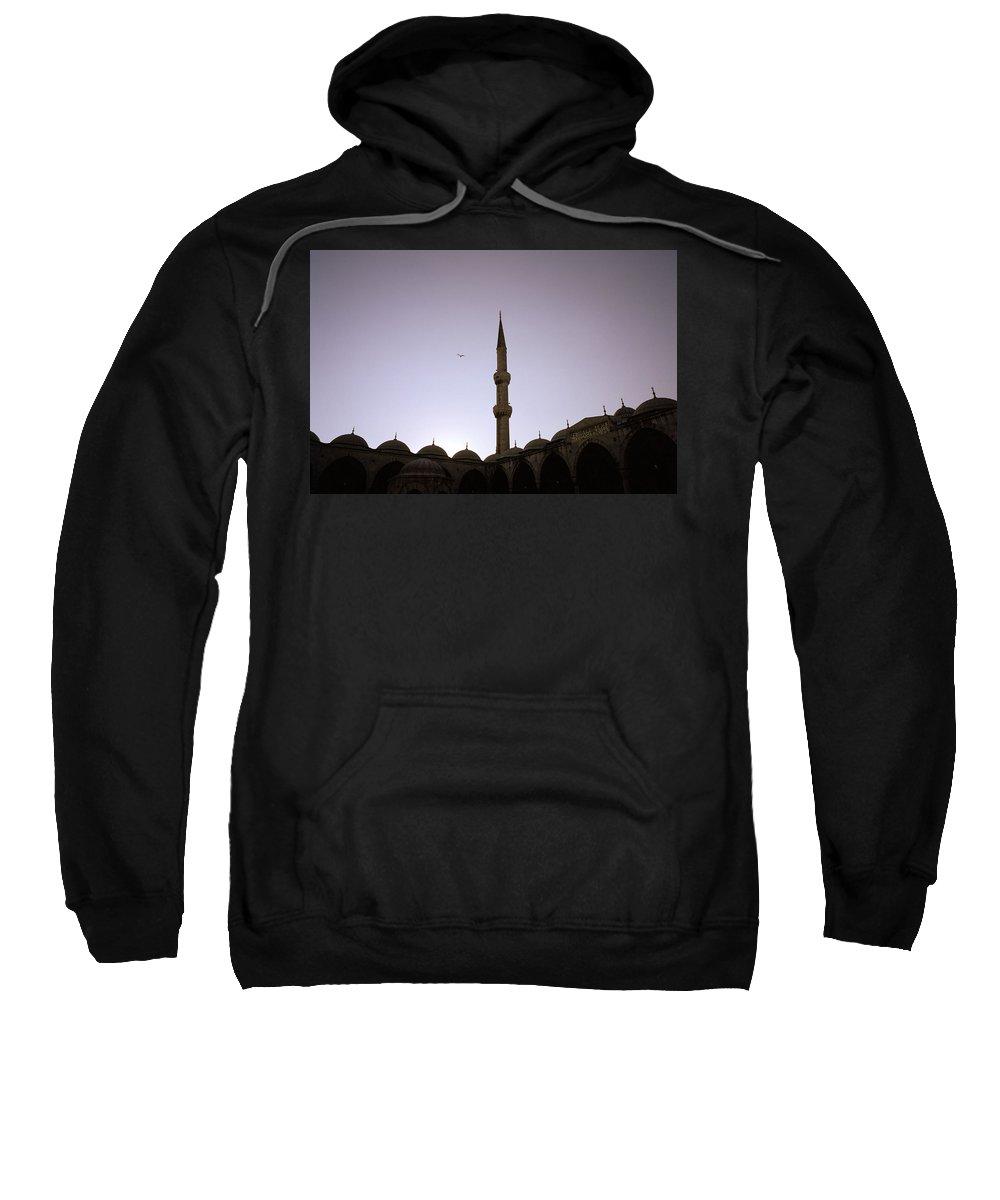 Serenity Sweatshirt featuring the photograph Spiritual Serenity by Shaun Higson
