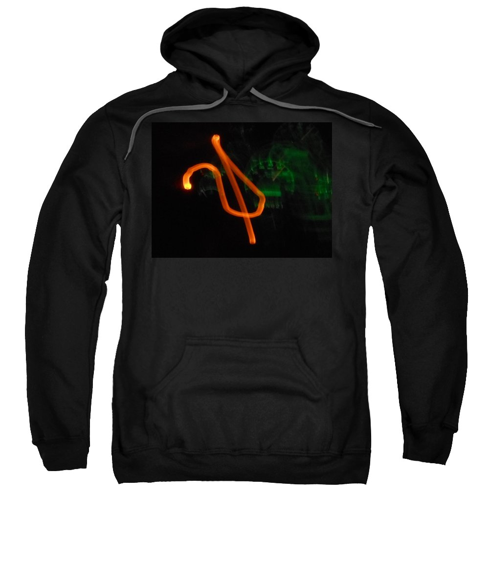 Abstract Sweatshirt featuring the photograph Unchained Melody by James Welch