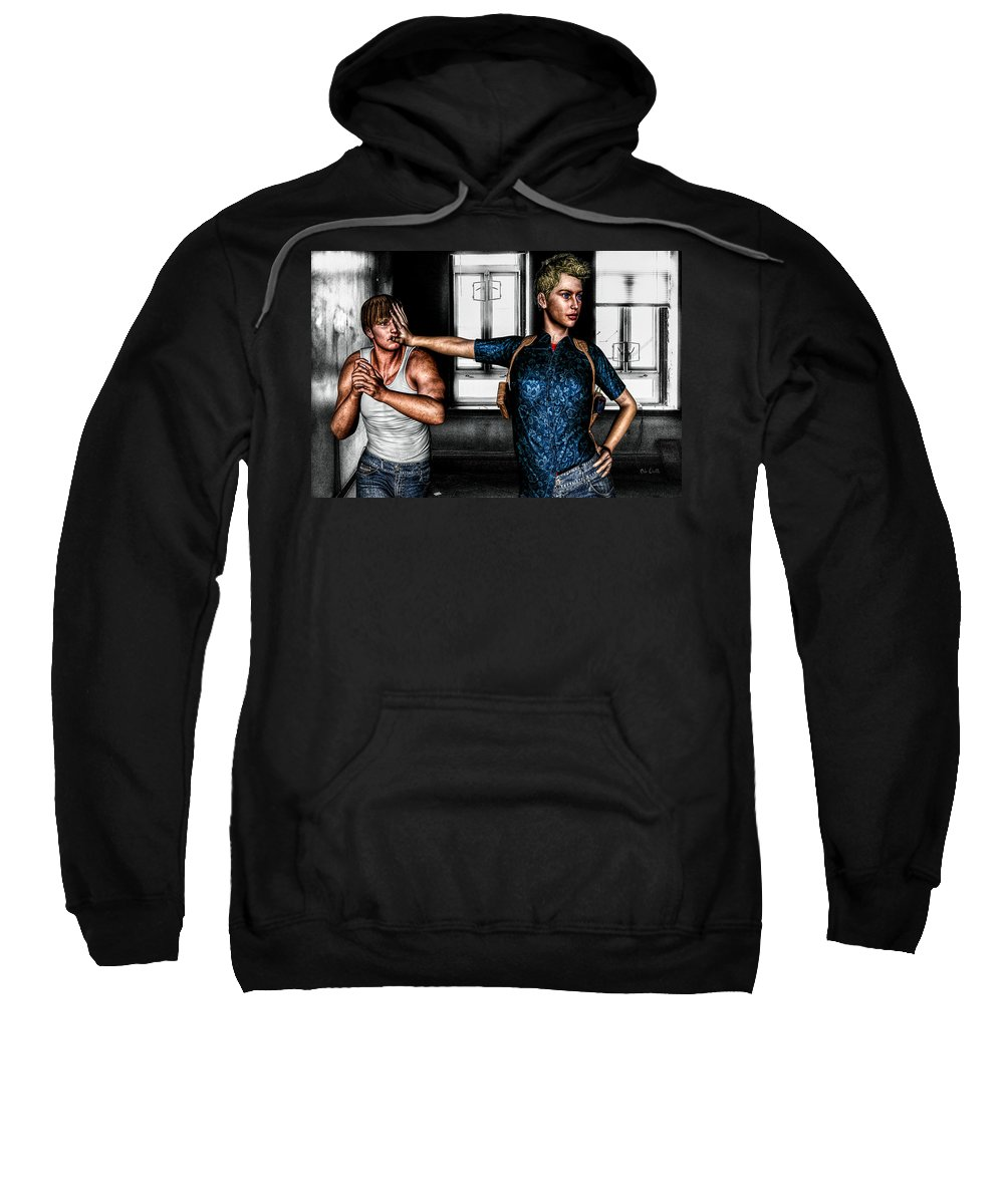 Relationships Sweatshirt featuring the photograph Under Control by Bob Orsillo