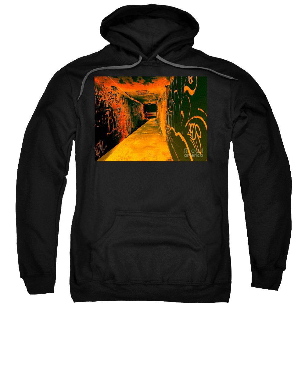Tunnel Sweatshirt featuring the photograph Under The Bridge by Ze DaLuz