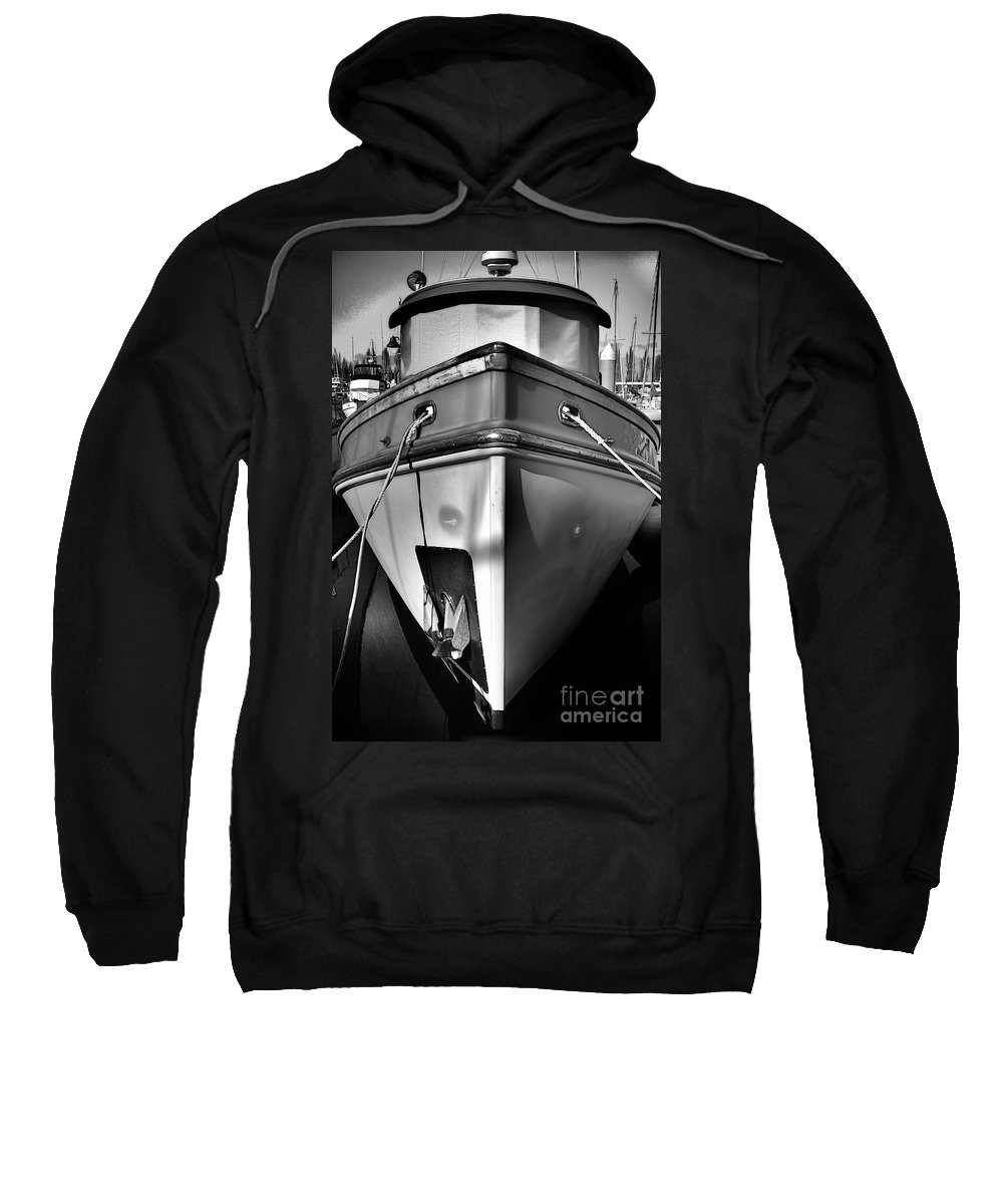 Abstract Sweatshirt featuring the photograph Up Front by Lauren Leigh Hunter Fine Art Photography