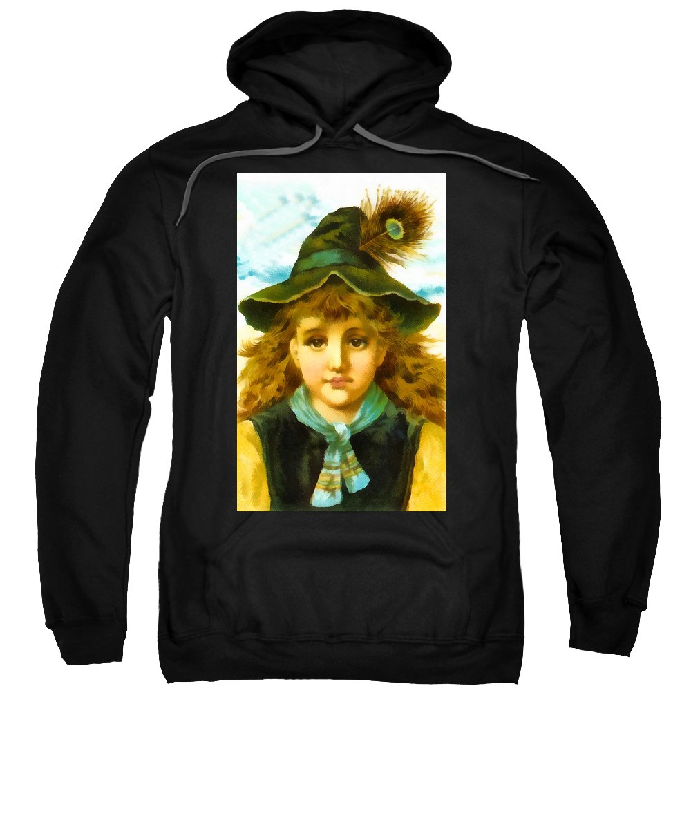Vintage Trading Cards Sweatshirt featuring the digital art Use Acme Soap by Vintage Trading Cards
