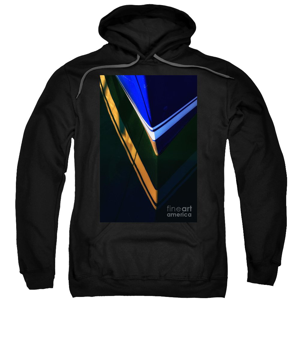 Abstract Sweatshirt featuring the photograph Vee by Lauren Leigh Hunter Fine Art Photography