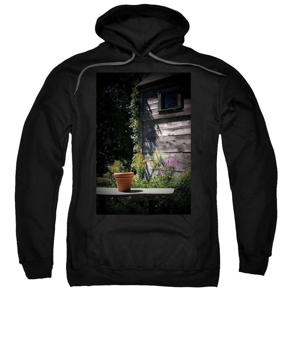 Photography Sweatshirt featuring the digital art Villagio by Barbara S Nickerson