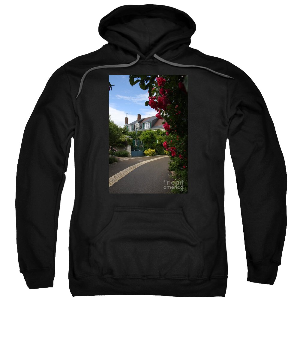 Village Sweatshirt featuring the photograph Ville De Fleur - France by Christiane Schulze Art And Photography