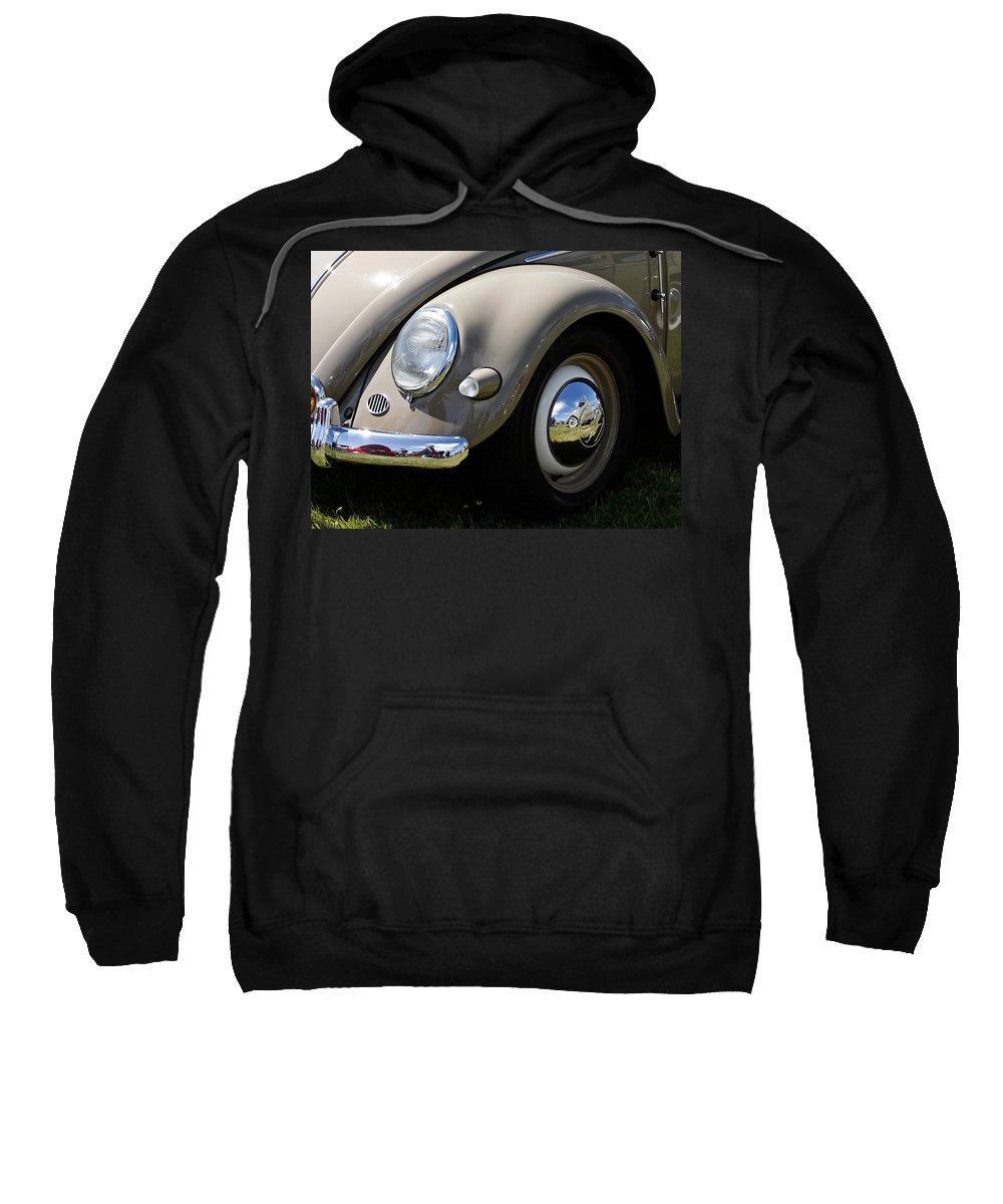 Vw Sweatshirt featuring the photograph Vintage Beetle by Steve McKinzie