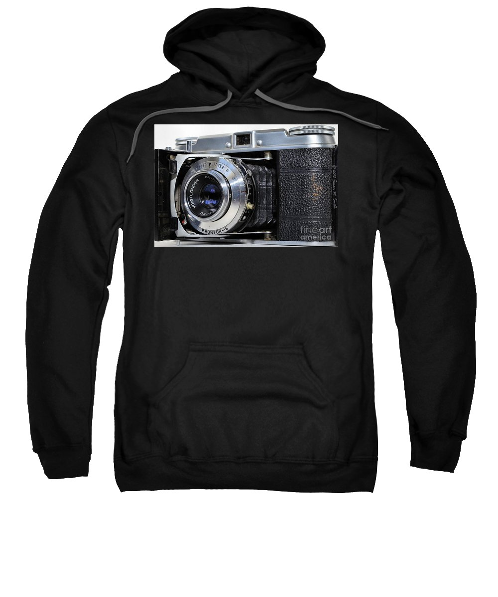 Photography Sweatshirt featuring the photograph Vintage Vito by Susan Smith