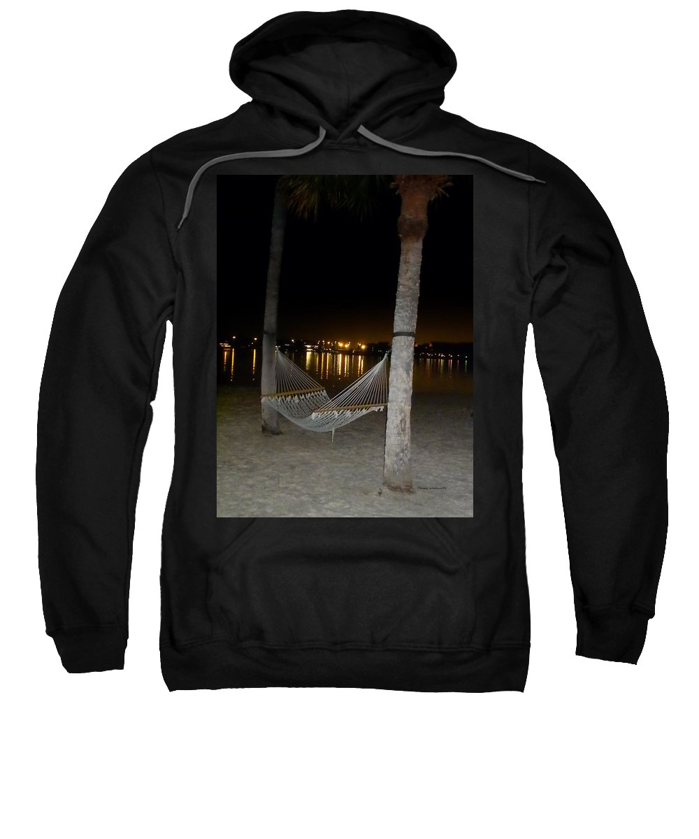 Hammock Sweatshirt featuring the photograph Waiting For You by Thomas Woolworth