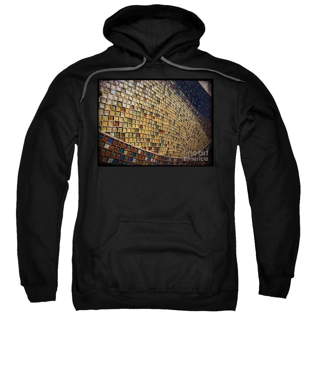 Street Snapshot Sweatshirt featuring the photograph Wall No.22 Color Version by Fei A