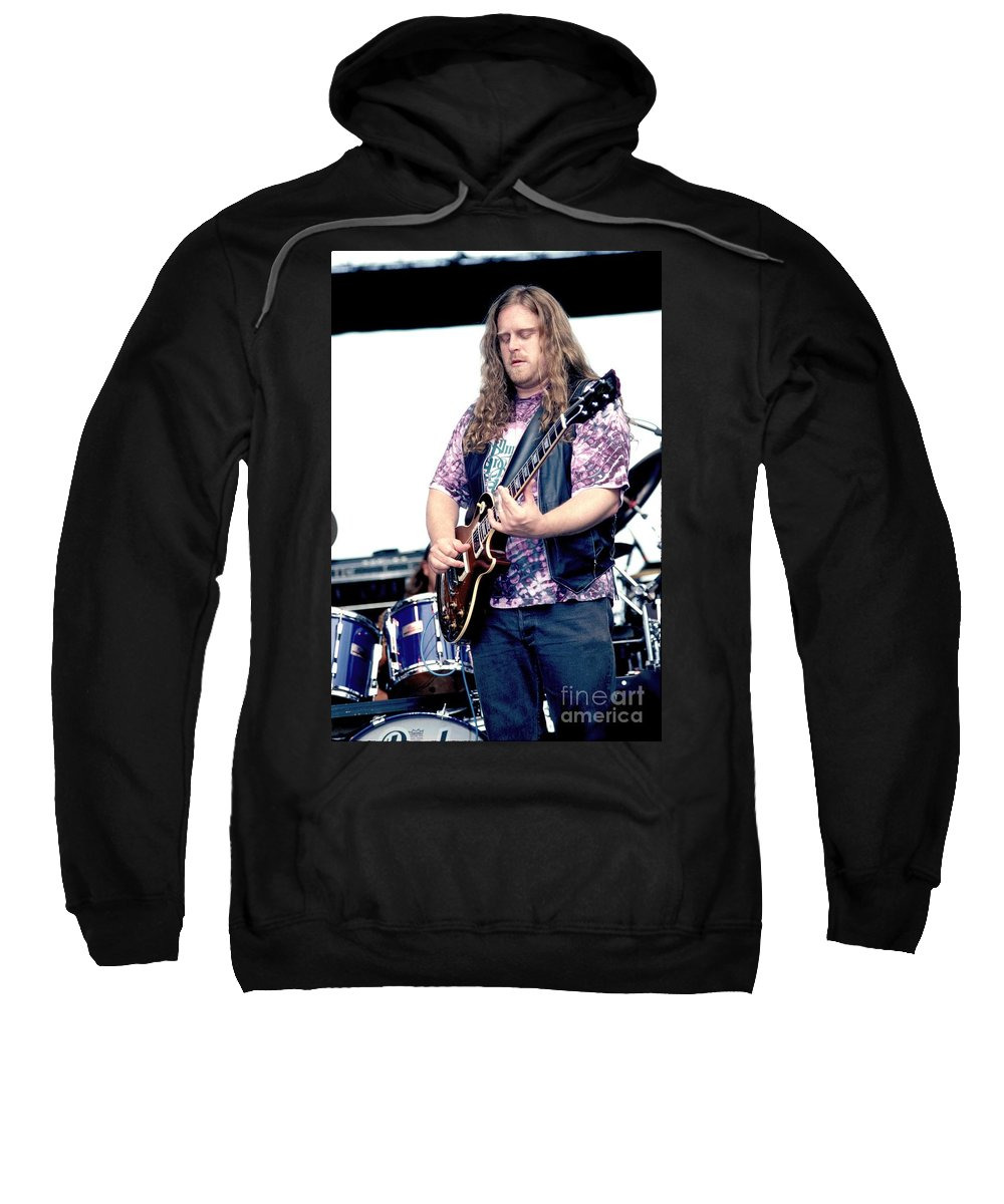 Songwriter Sweatshirt featuring the photograph Warren Haines by Concert Photos
