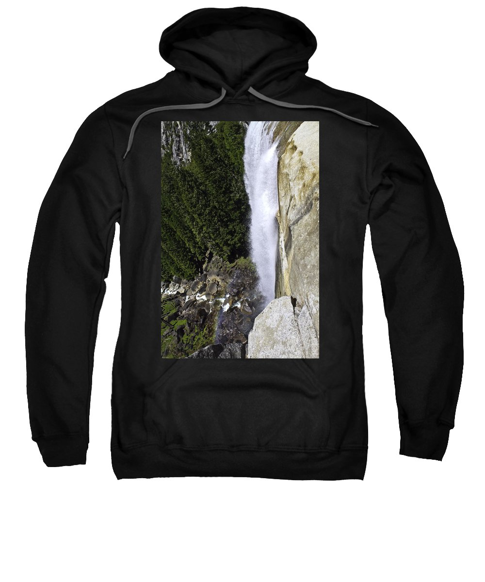 Water Fall Sweatshirt featuring the photograph Water Fall by Brian Williamson