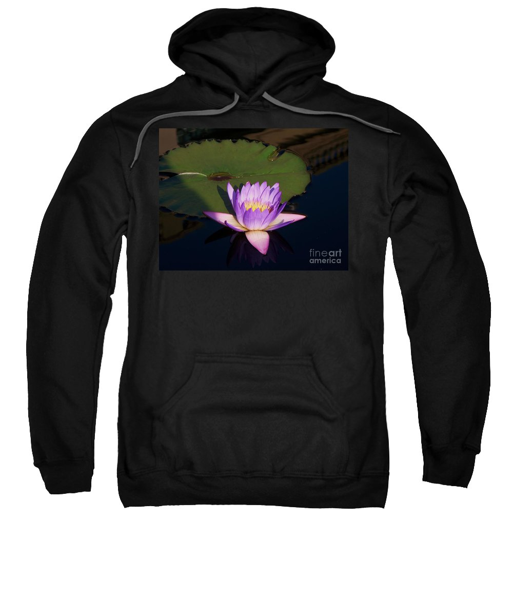 Photograph Sweatshirt featuring the photograph Water Lilies Monet by Eric Schiabor