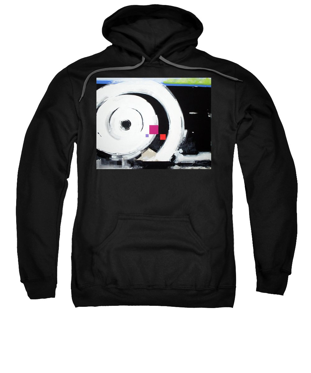 Abstract Sweatshirt featuring the painting Wheel Of Fortune by Jean Pierre Rousselet